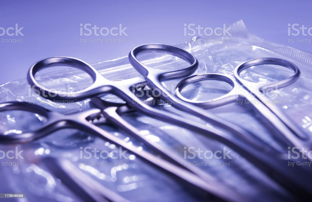 Surgical instruments royalty-free stock photo