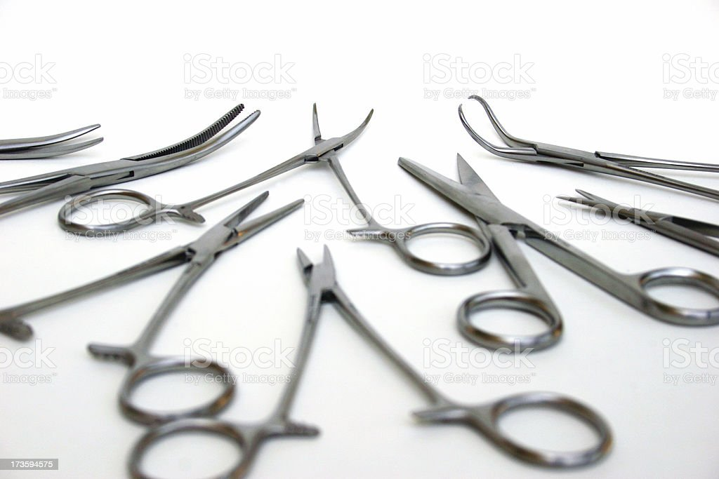 Surgical Intruments royalty-free stock photo