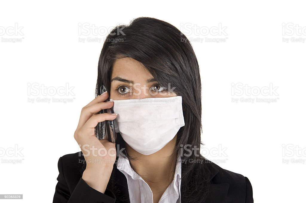 Surgical Mask royalty-free stock photo