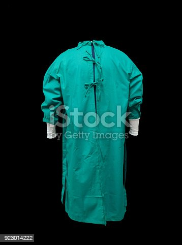 surgical suit for surgery, surgeon body with sleeves