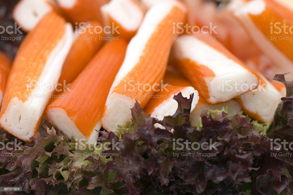 Surimi royalty-free stock photo