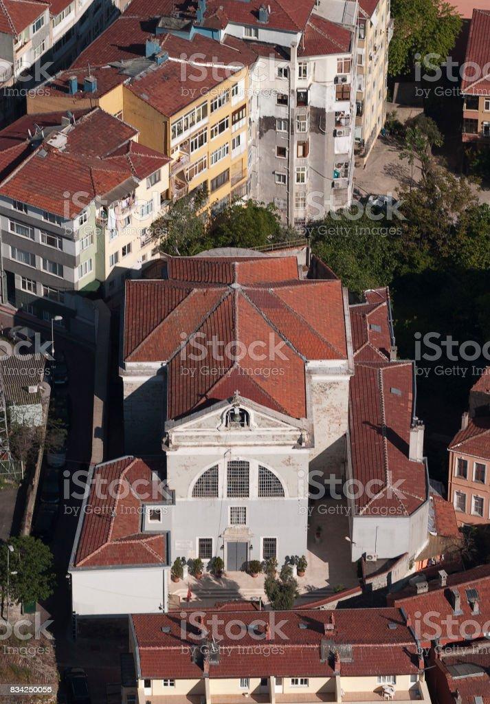 Surp Asdvadzadzin Church stock photo