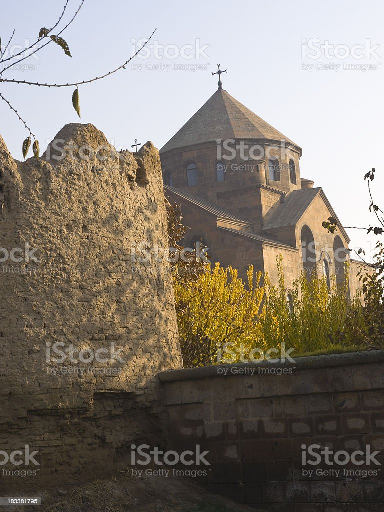 Surp Hripsime in Armenia. royalty-free stock photo