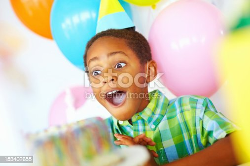 istock Surpised birthday boy 153402655