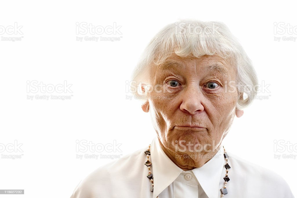 Surprise and disbelief royalty-free stock photo