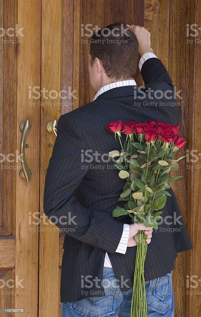 Surprise flowers royalty-free stock photo
