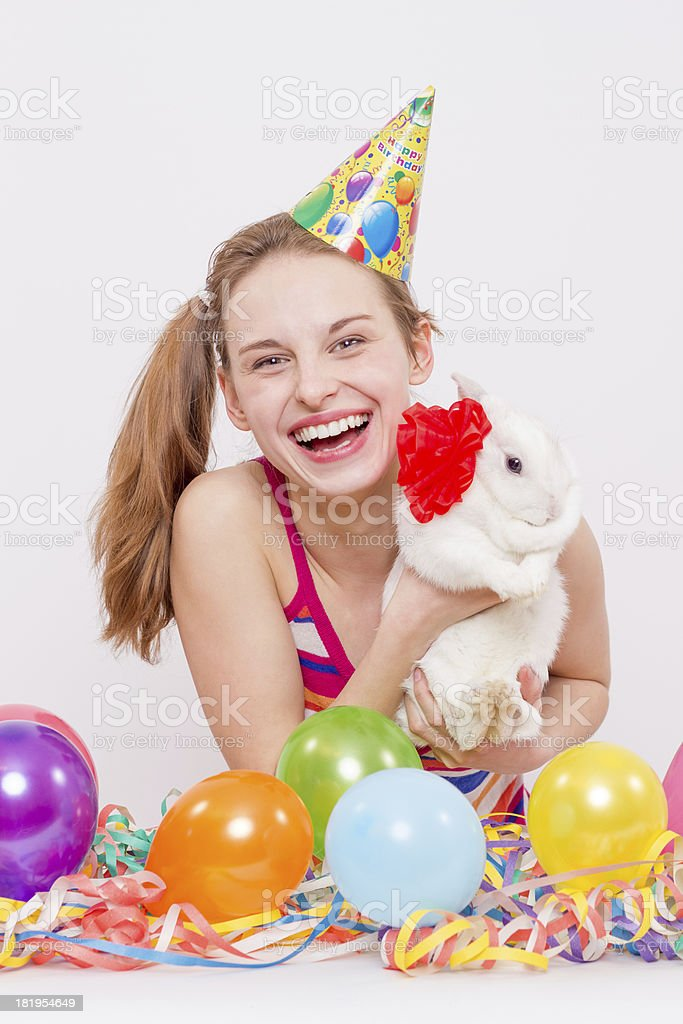 Surprise party! royalty-free stock photo