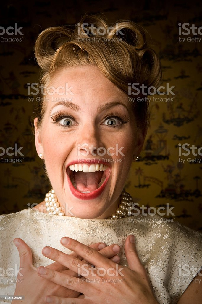 Surprise! royalty-free stock photo