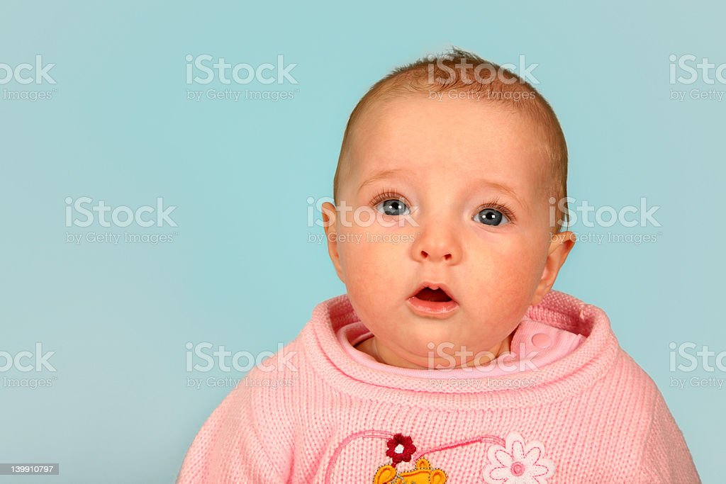 Surprise ? royalty-free stock photo
