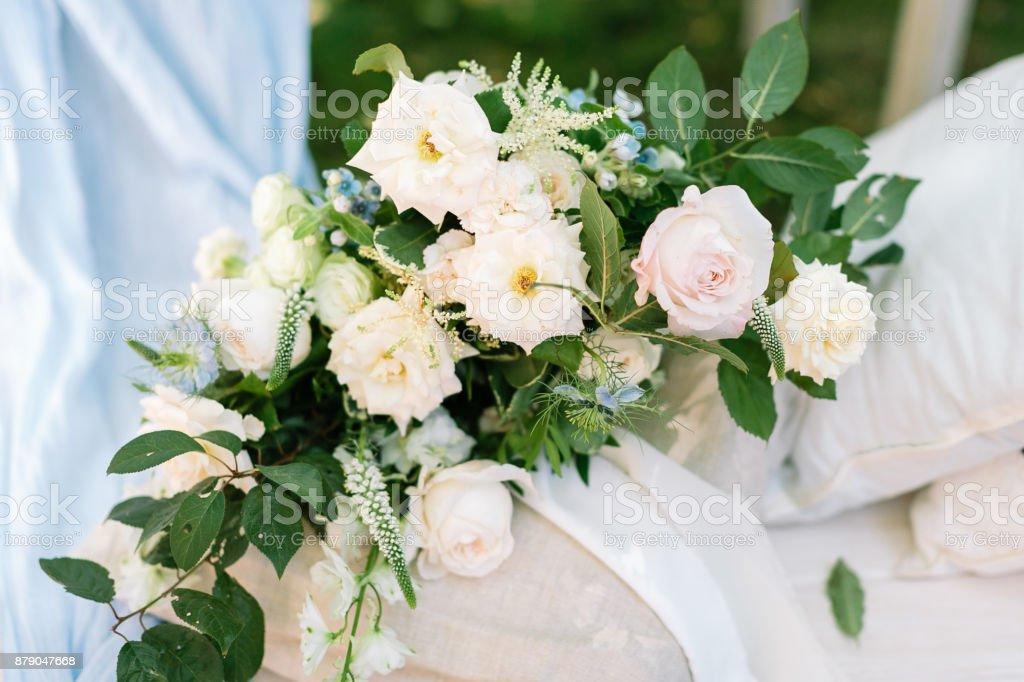 Uberraschung Prasent Florales Designkonzept Wunderbares Bouquet