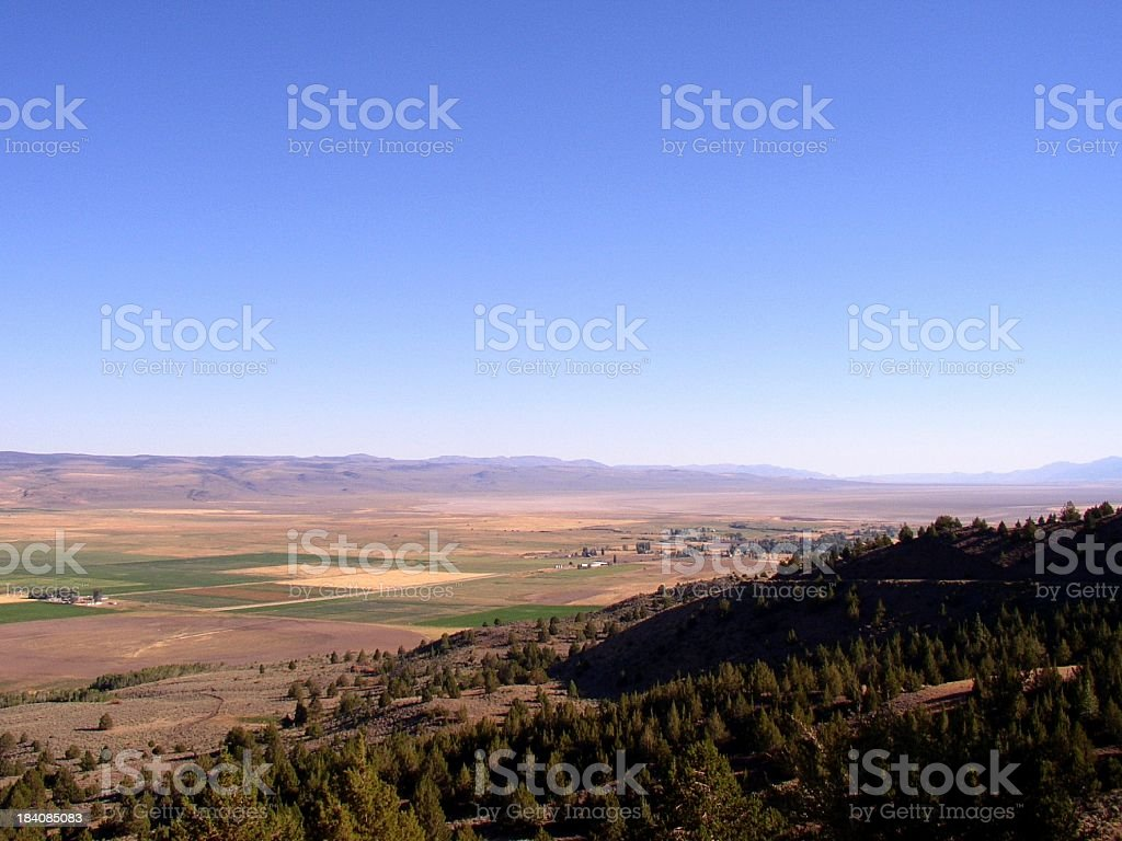 Surprise Valley stock photo