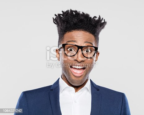 1012628232istockphoto Surprised afro american young businessman 1064221242