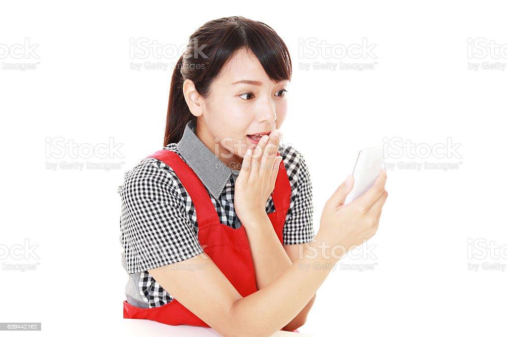 Surpris femme asiatique - Photo