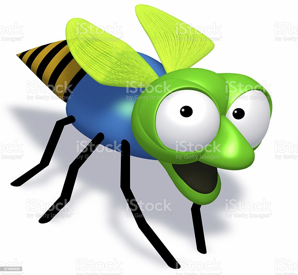 surprised bug royalty-free stock photo