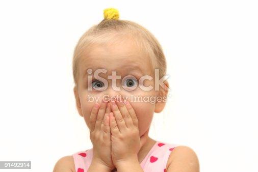 istock Surprised child 91492914