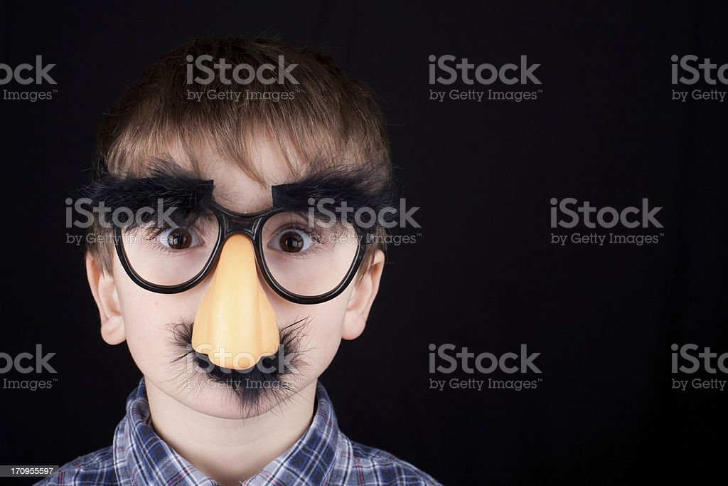 Surprised Funny Boy stock photo