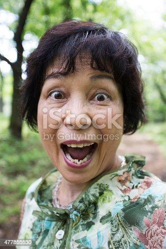 477898387istockphoto Surprised Japanese Senior Woman 477855530