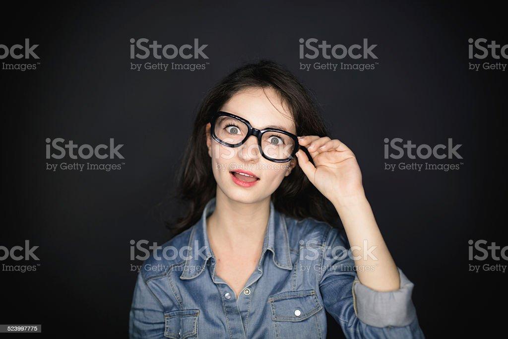 Surprised stock photo