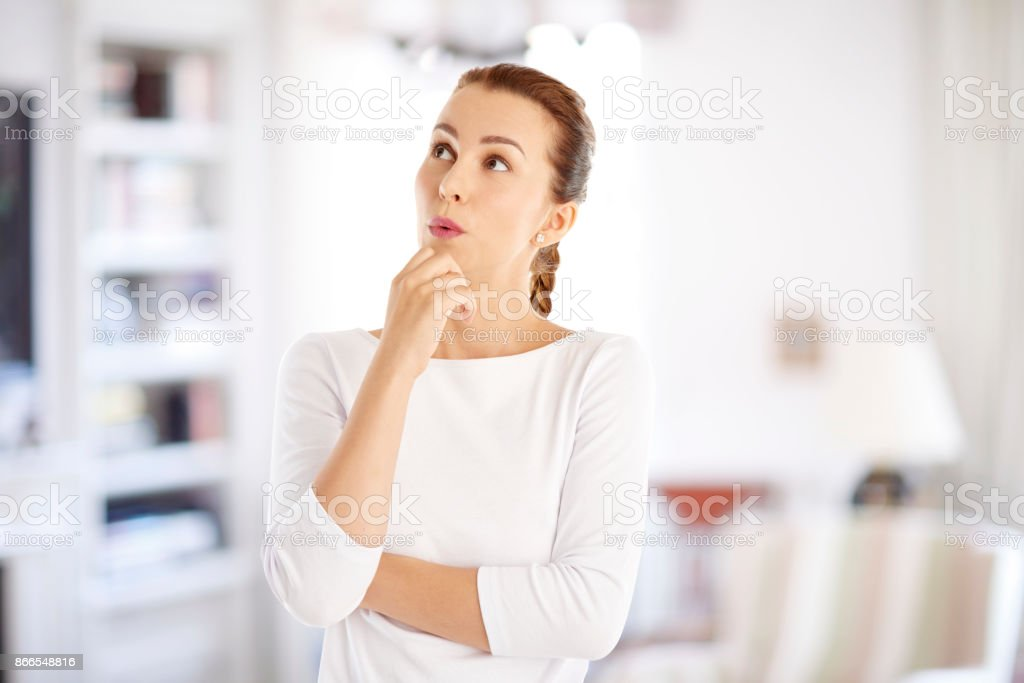 Surpris jeune femme - Photo