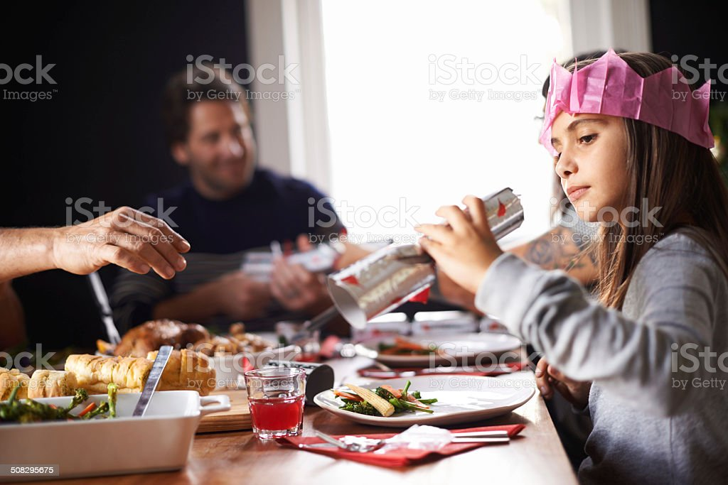 Surprises on Christmas stock photo