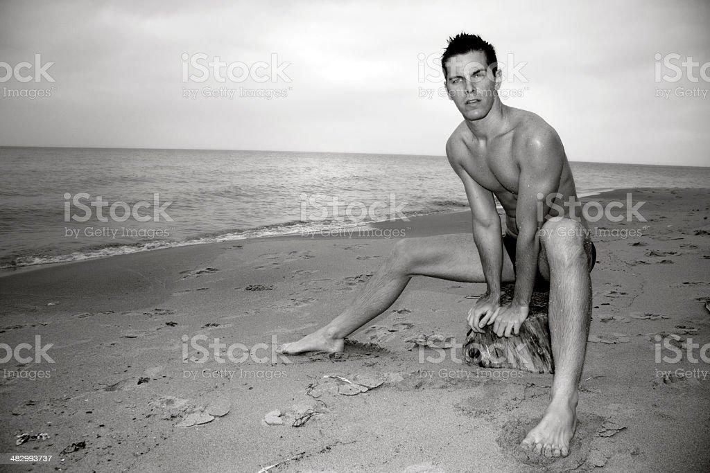 Surreal Beach royalty-free stock photo