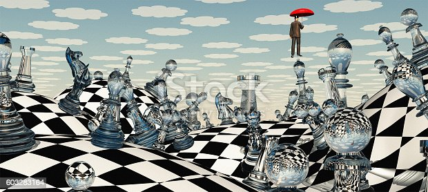 istock Surreal Chess Landscape 603283164