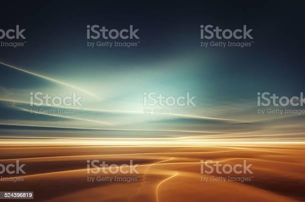 Photo of Surreal desert landscape