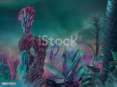 istock surreal garden background 989410274