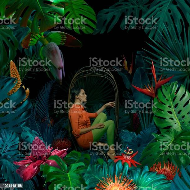 Surreal jungle portrait picture id1051148158?b=1&k=6&m=1051148158&s=612x612&h=ils8zazol0jo4bwtlhxu2smxcpnqjfzcvtqt69c5qpk=