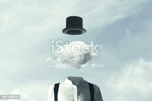 istock surreal man heads in the clouds 861550210
