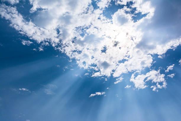 Surreal Sonne Strahlen – Foto