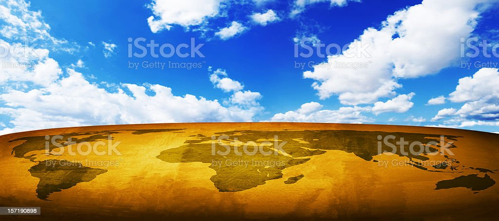 Surreal world royalty-free stock photo