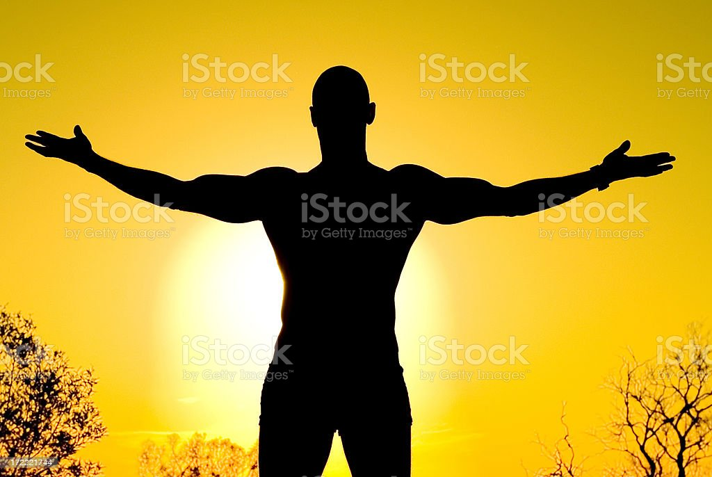 Surrender royalty-free stock photo