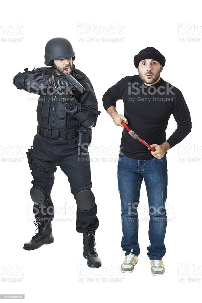 Surrender yourself! royalty-free stock photo