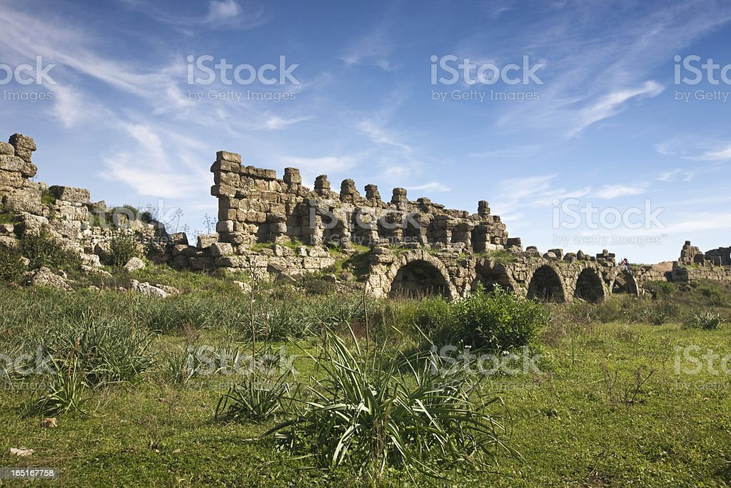 Surrounding Wall royalty-free stock photo