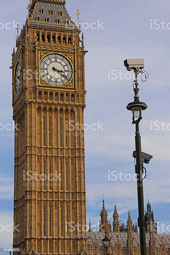 Sicherheitskameras und Big Ben – Foto