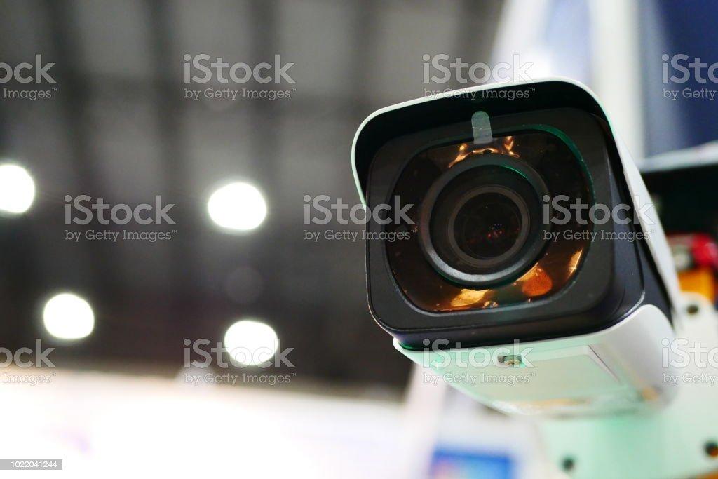 IP surveillance camera stock photo
