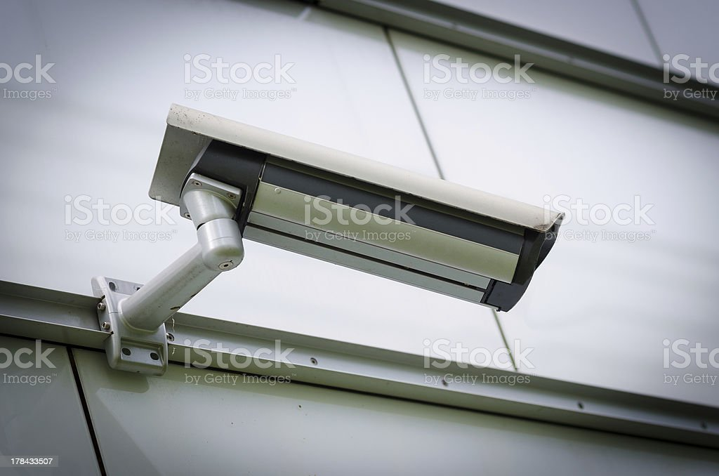 Surveillance Camera royalty-free stock photo