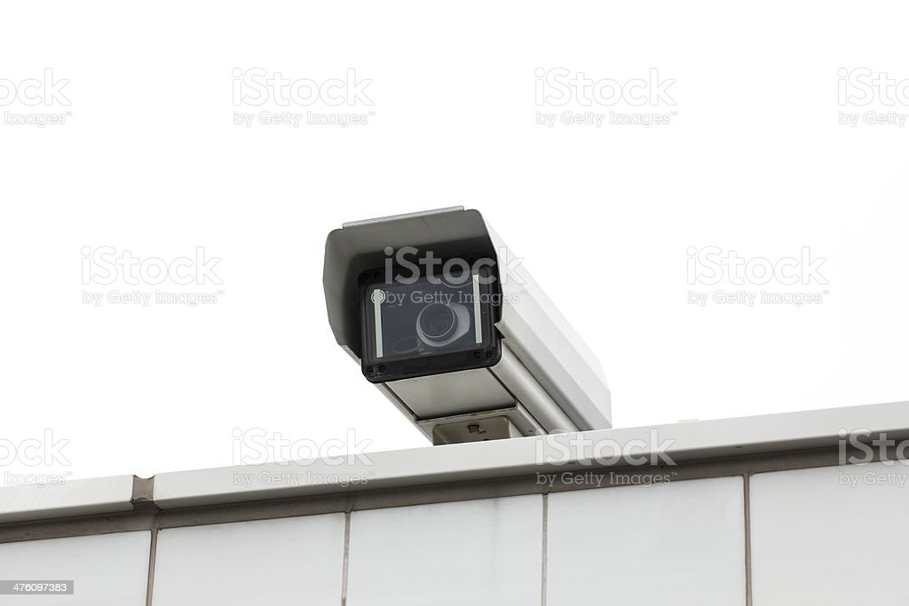 Surveillance Camera stock photo