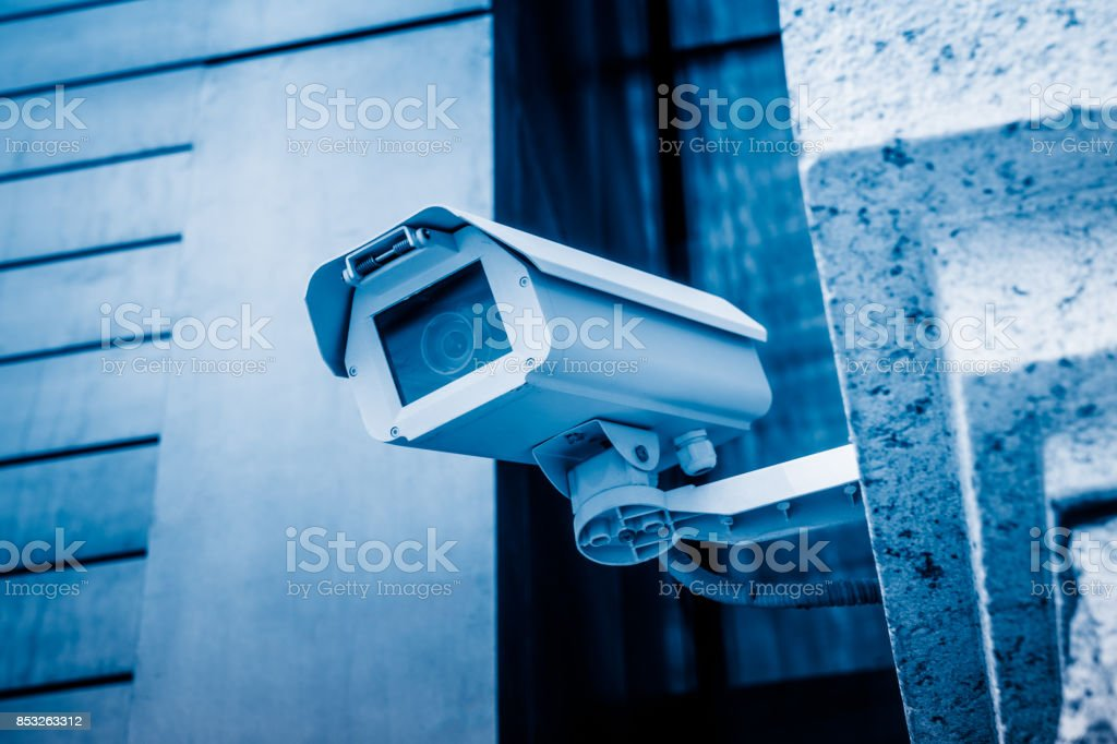 Bewakingscamera foto