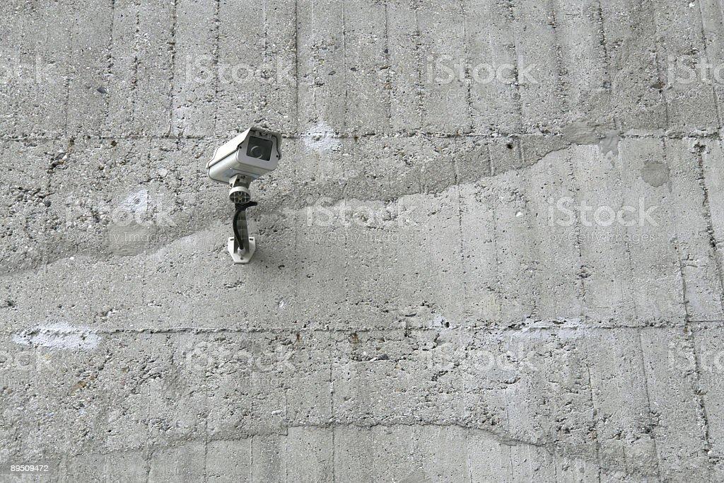 Caméra de Surveillance photo libre de droits