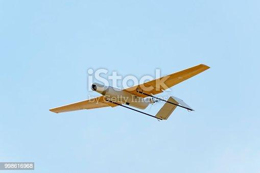 istock Surveillance drone prototype 998616968