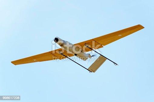 istock Surveillance drone prototype 998617208