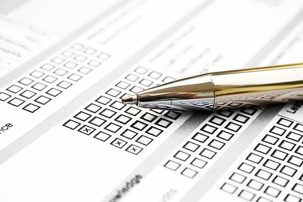 Umfrage-Formular – Foto