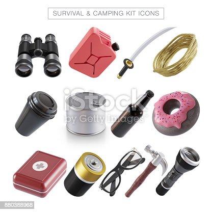 Hiking, First Aid Kit, Model Kit, Survival