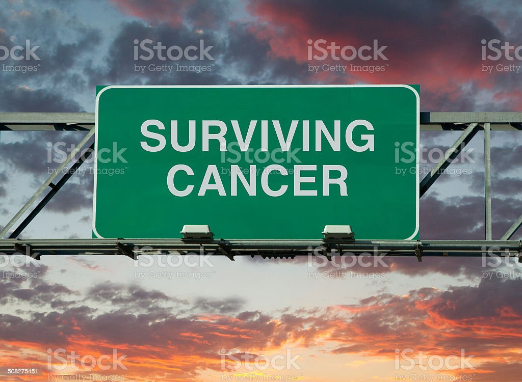 Surviving Cancer stock photo