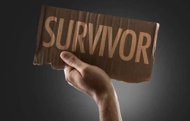 Sobreviviente - foto de stock