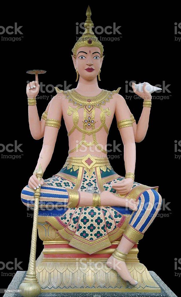 Surya Statue stock photo