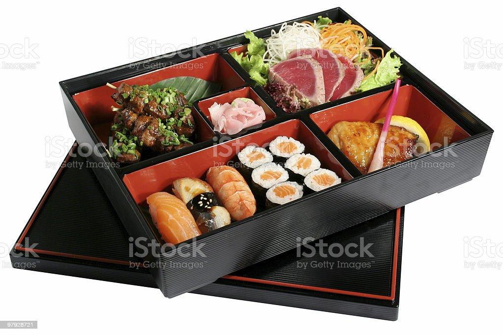 Sushi a set royalty-free stock photo