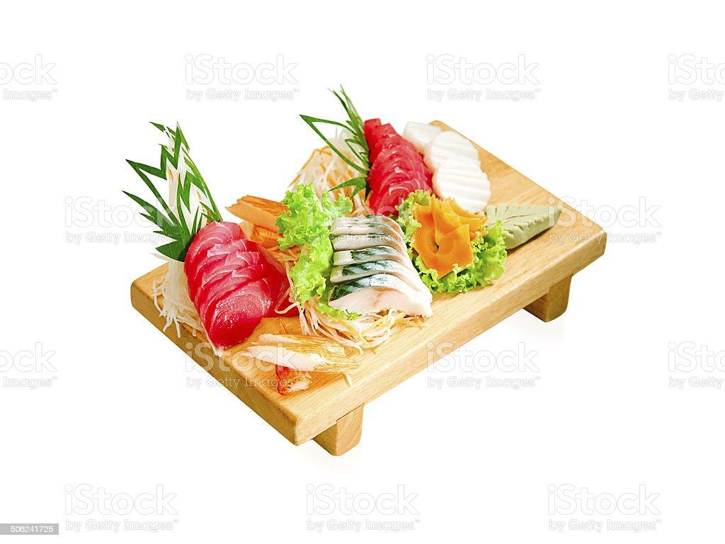 Sushi a taste of Japanese food isolated royalty-free stock photo